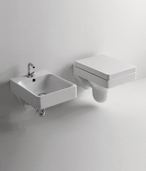 Cento Wc pan + bidet by Kerasan | Toilets