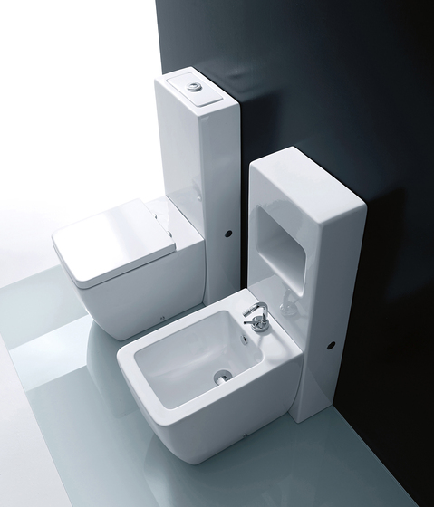 Ego Btw wc pan + bidet by Kerasan | Toilets