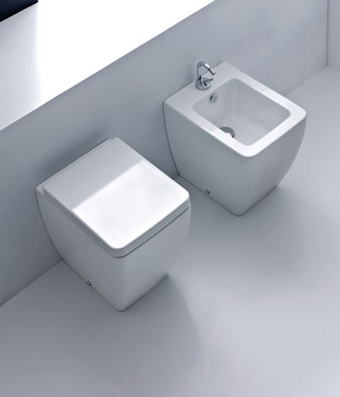 Ego Btw wc pan + bidet 46 by Kerasan | Toilets