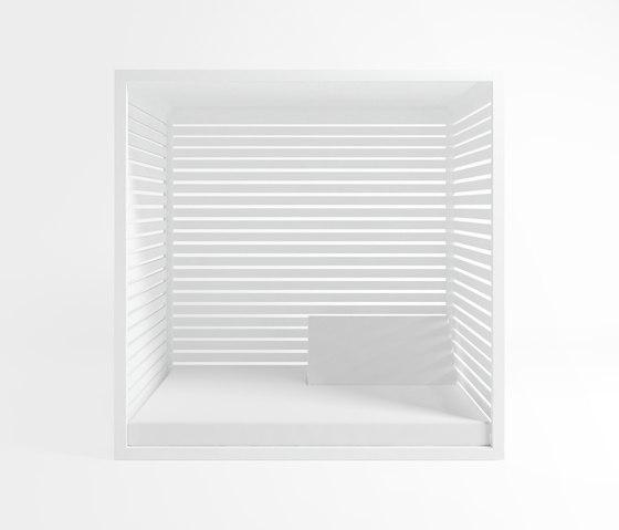 Daybed | Daybed Alluminio Fisso Reclinabile di GANDIABLASCO | Gazebo da giardino