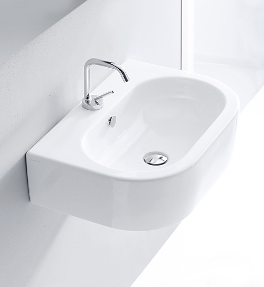 Flo Washbasin 70 by Kerasan | Wash basins