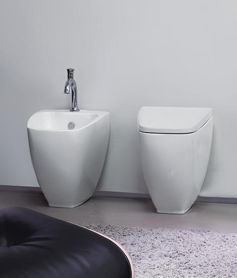 Spa Btw wc pan + bidet by Kerasan | Toilets