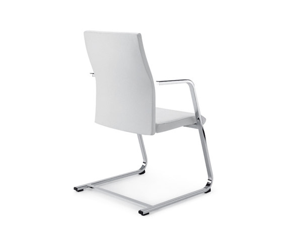 Cubo flex by z co swivel chair visitor chair product - Chaise transparente avec accoudoir ...