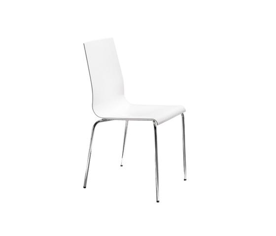 Kuadra 1151 by PEDRALI | Multipurpose chairs
