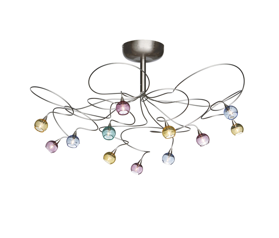 Colorball ceiling light 12 by HARCO LOOR | General lighting