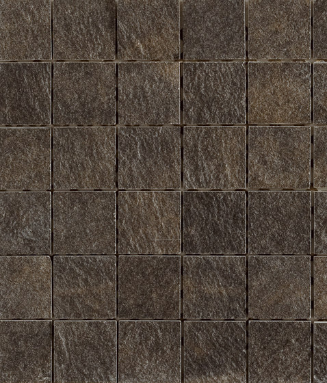 Arketipo Nero Mosaico Tile by Refin | Ceramic mosaics