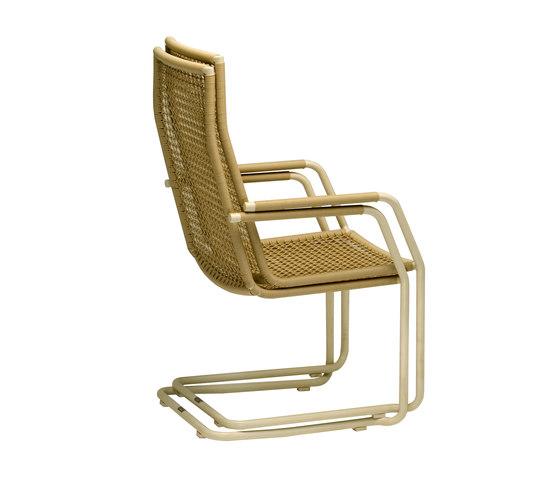 Lodge highback by Fischer Möbel   Garden chairs