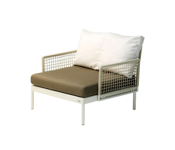 Lodge lounge chair by Fischer Möbel | Garden armchairs