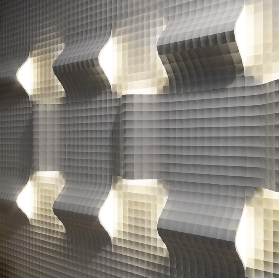 Complementi Luce | Quadro curve luce di Lithos Design | Lastre pietra naturale