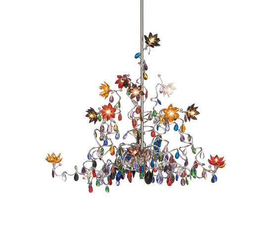 Jewel Chandelier pendant light 15-multicolor by HARCO LOOR | General lighting