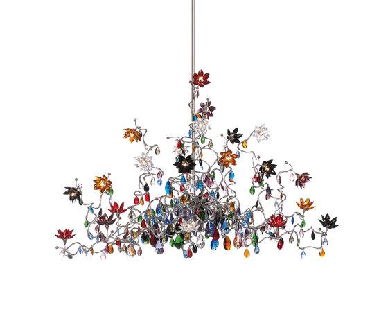 Jewel Chandelier pendant light 24-multicolor by HARCO LOOR | General lighting