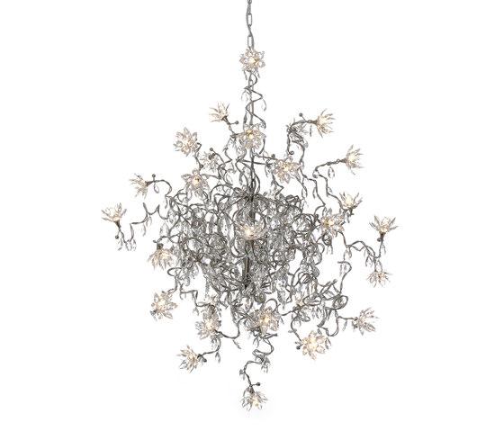 Jewel Double pendant light 30-transparent de HARCO LOOR | Iluminación general