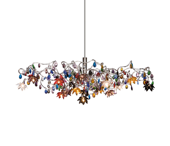 Jewel pendant light 15-multicolor by HARCO LOOR | General lighting