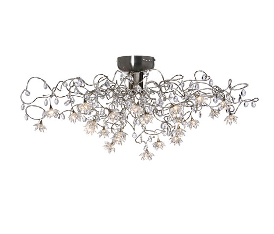Jewel ceiling light 24-transparent by HARCO LOOR | General lighting