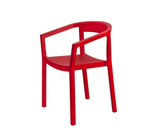peach armchair by Resol-Barcelona Dd | Multipurpose chairs