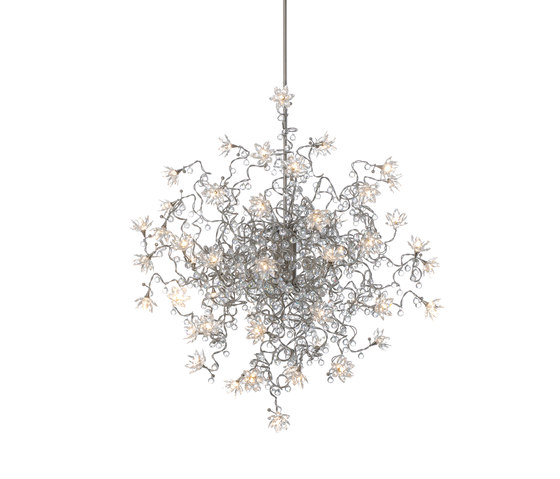 Jewel Diamond Double pendant light 48-transparent by HARCO LOOR | General lighting