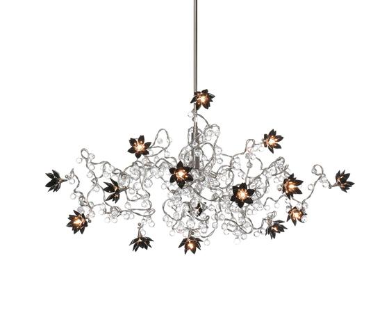 Jewel Diamond suspension 15-noir de HARCO LOOR | Éclairage général