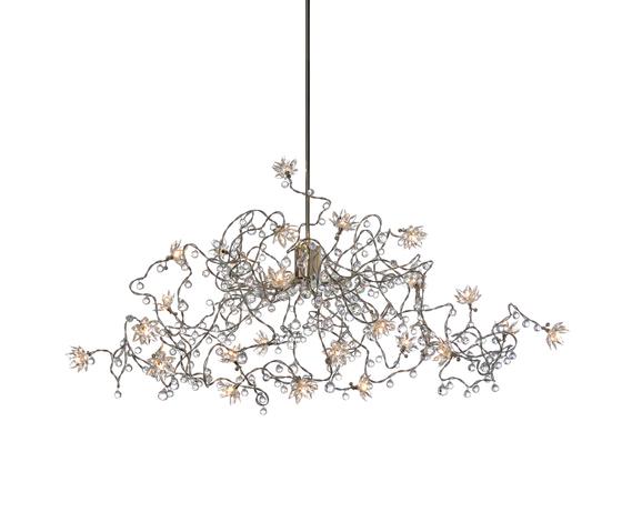 Jewel Diamond pendant light 24-transparent by HARCO LOOR | General lighting