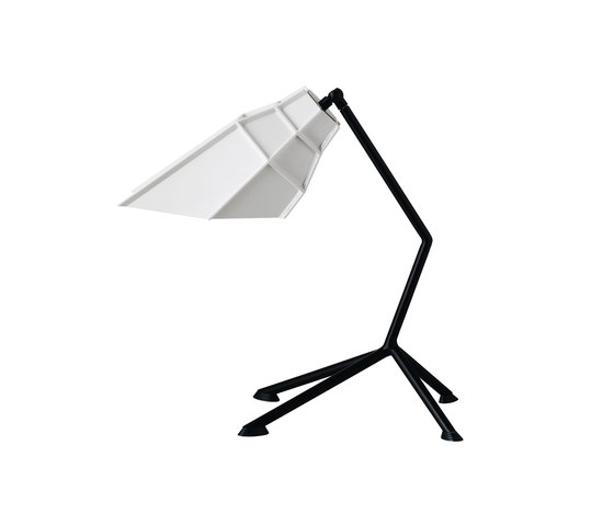 Pett table white de Diesel by Foscarini | Iluminación general
