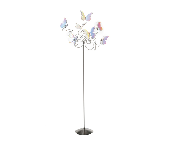 Papillon floor lamp 7-iridescent de HARCO LOOR | Lámparas de pie