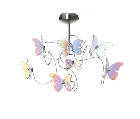 Papillon plafonnier 7-iridescent de HARCO LOOR | Éclairage général