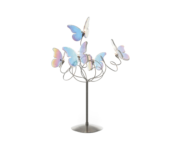 Papillon table lamp 5-iridescent by HARCO LOOR | General lighting