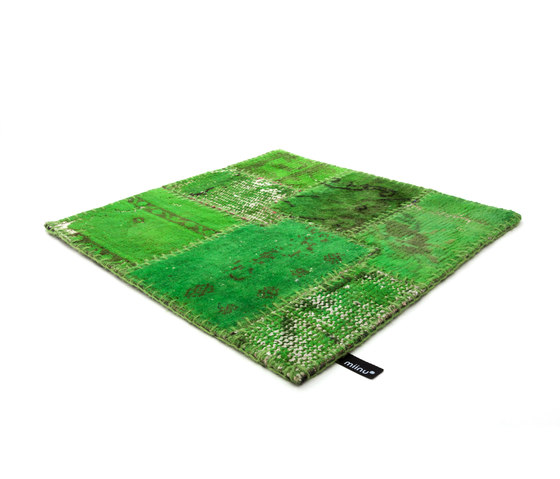 Industrial green flash by Miinu | Rugs / Designer rugs