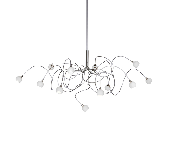 Snowball pendant light 12 by HARCO LOOR | General lighting