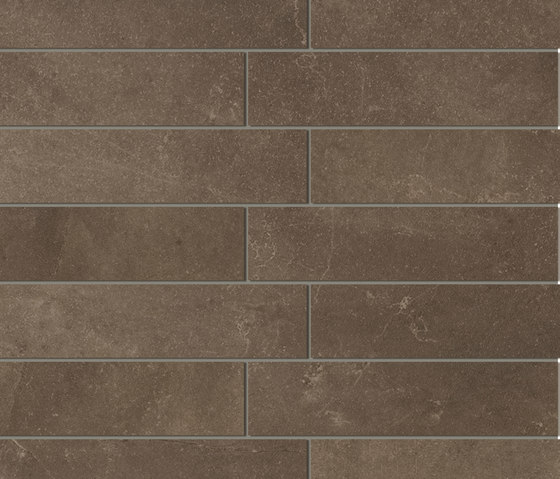 Stone-leader Mosaico Brown Tile by Refin | Ceramic mosaics