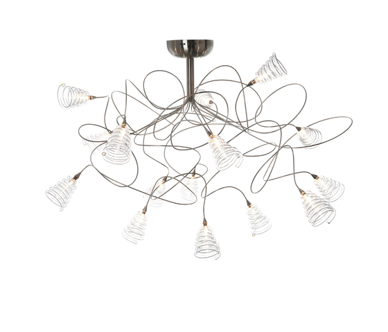 Spiral ceiling light 15 by HARCO LOOR | General lighting