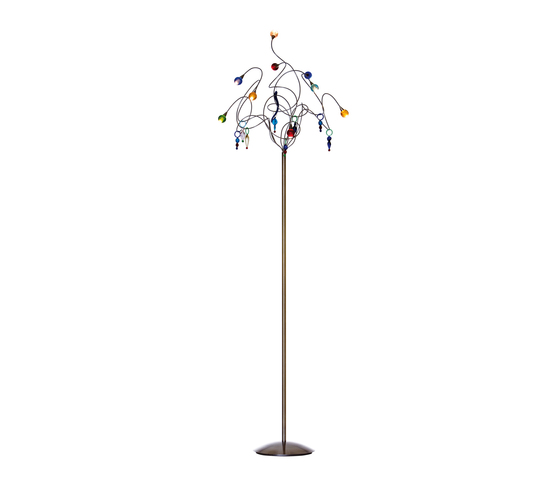 Strawberry floor lamp 9-multicolor by HARCO LOOR | General lighting