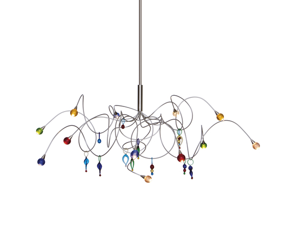 Strawberry pendant light 12-multicolor by HARCO LOOR | General lighting