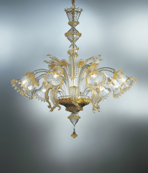 Ca' Venier - chandelier by A.V. Mazzega | Ceiling suspended chandeliers