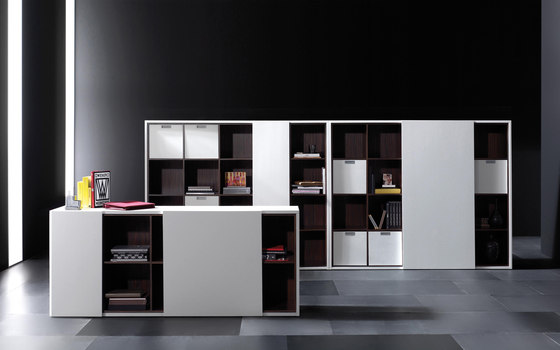 meuble de rangement bureau design. Black Bedroom Furniture Sets. Home Design Ideas