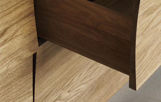 Reflect | sideboard large by Muuto | Sideboards