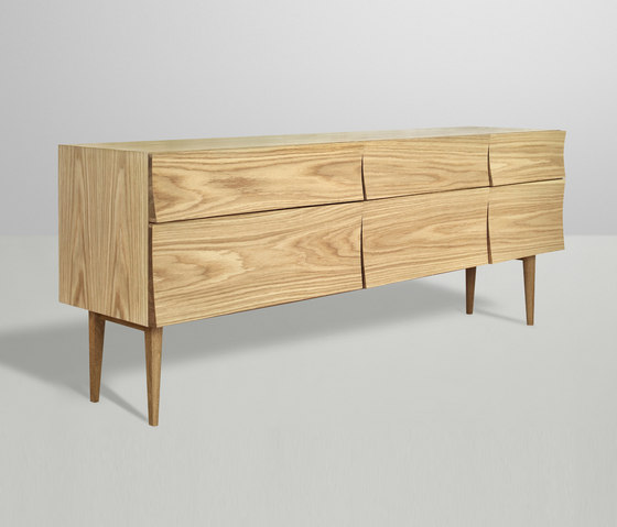 Reflect | sideboard large de Muuto | Aparadores
