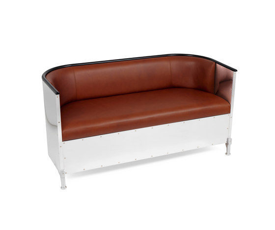 Aluminium Sofa de Källemo | Sofás lounge