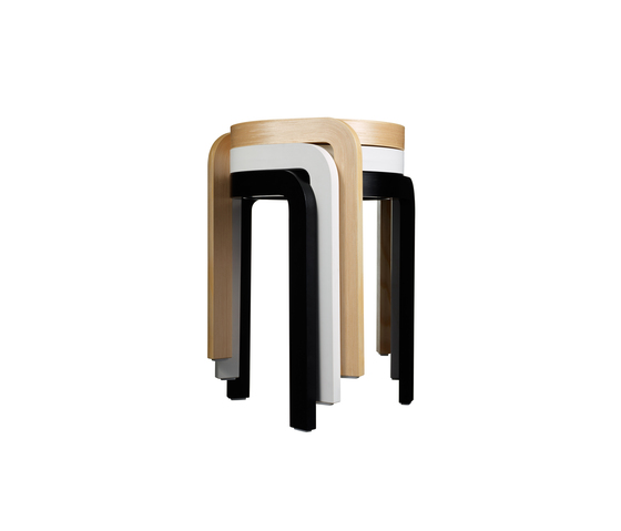 Spin stackable stool by Swedese | Stools