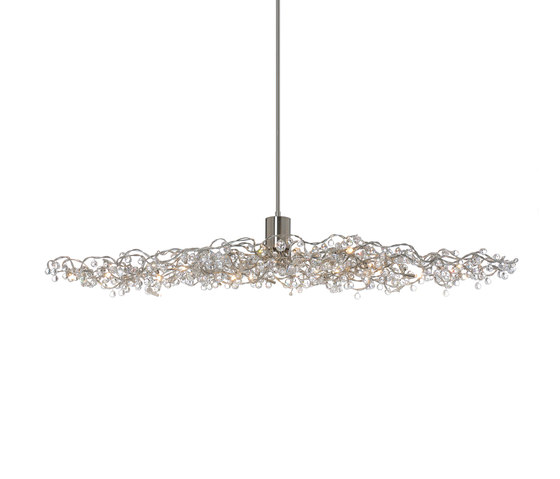 Tiara Diamond oval pendant light 24 by HARCO LOOR | General lighting