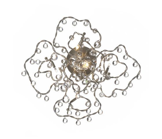 Tiara diamond ceiling-/wall lamp 5 by HARCO LOOR | General lighting