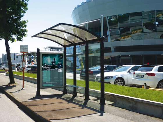 Arts by Metalco | Bus stop shelters
