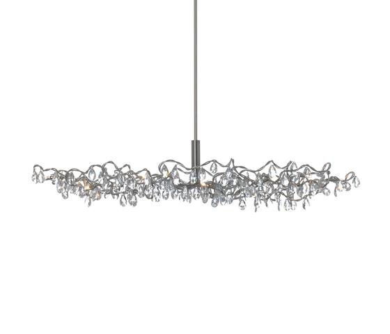 Tiara Oval Pendant light 12-transparent de HARCO LOOR | Iluminación general