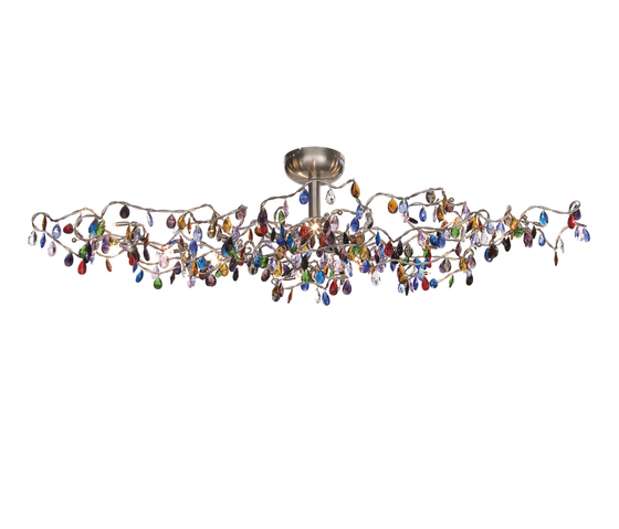 Tiara Oval Ceiling light 15-multicolor by HARCO LOOR | General lighting