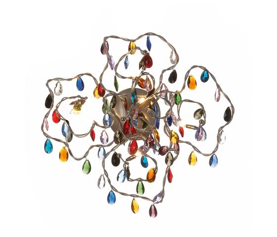Tiara ceiling-/wall lamp 5-multicolor by HARCO LOOR | General lighting