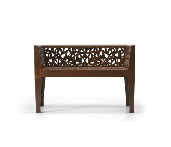Corten Style by Metalco | Garden benches