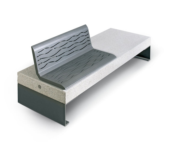 Diamante by Metalco | Exterior benches
