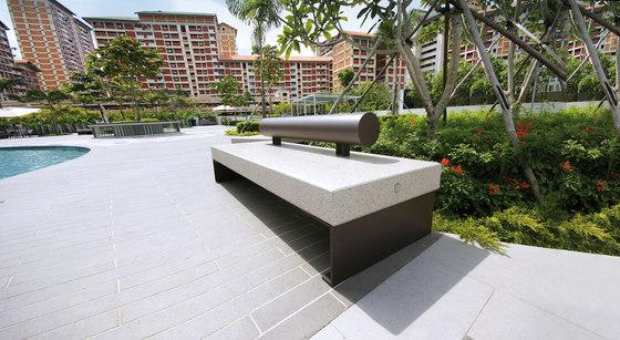 Diamante by Metalco | Exterior benches