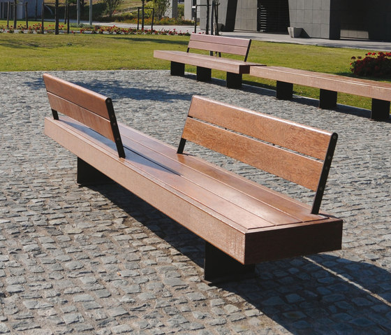 Harris by Metalco | Exterior benches