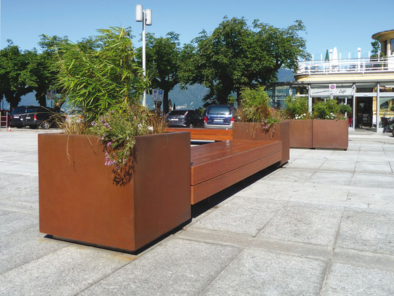 Harris Big de Metalco | Bancs publics