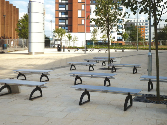Libre Piana by Metalco | Exterior benches